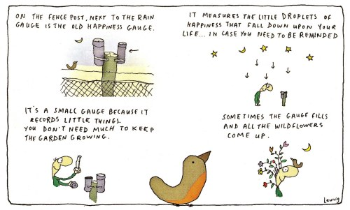 The Old Happiness Gauge by Michael Leunig
